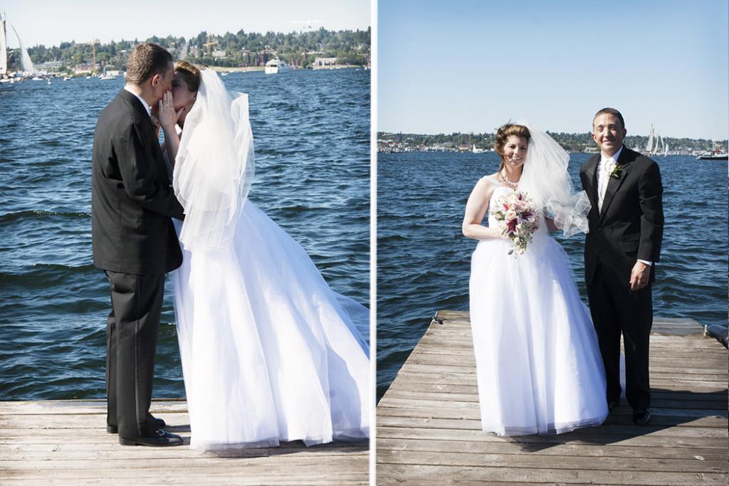 Summer Beach Wedding on Whidbey Island