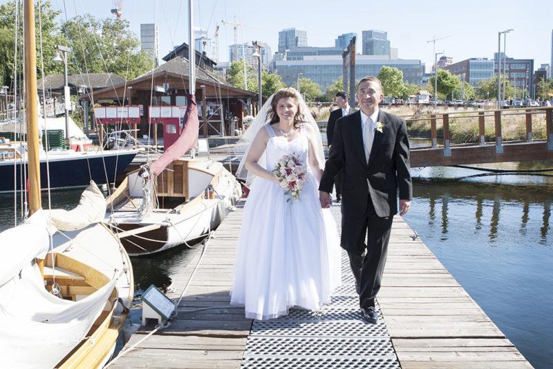 Virginia V Lake Union Washington Wedding Photographer