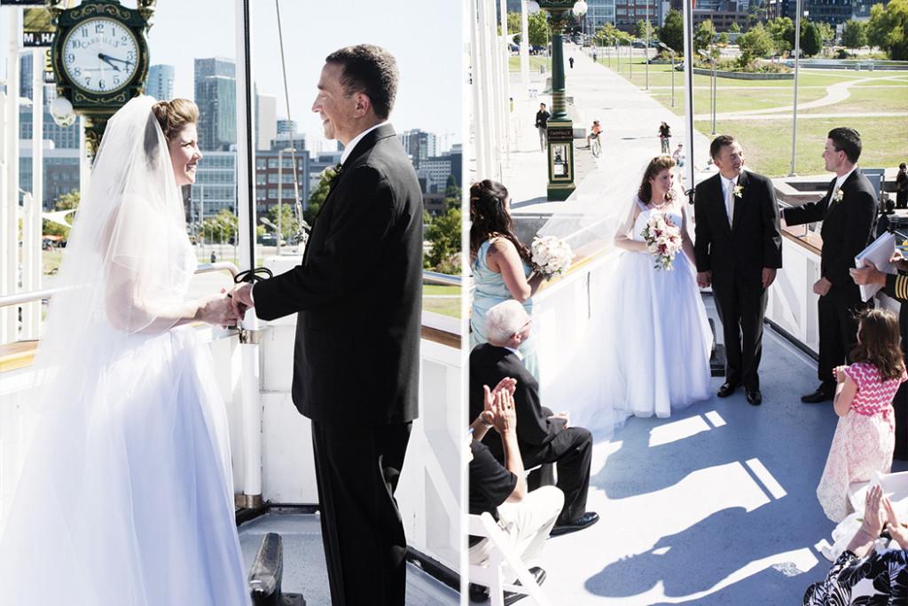Wedding Ship Naval Photo