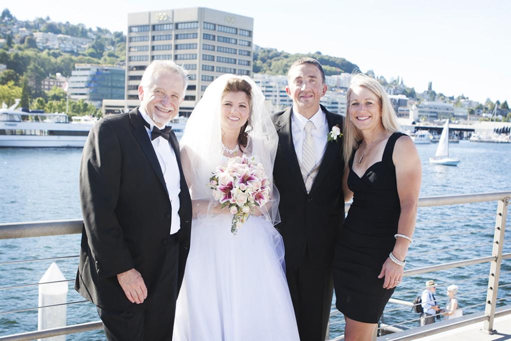 Whidbey Island Ocean Beach wedding