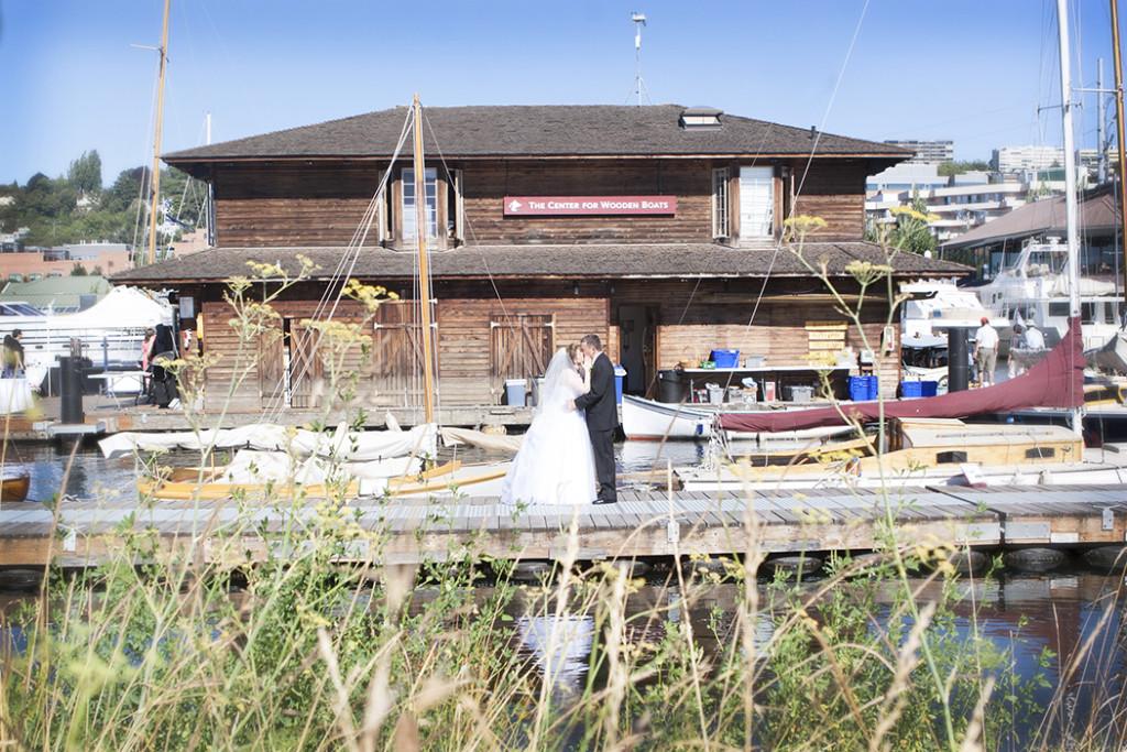 Wooden Boat Wedding Whidbey Island