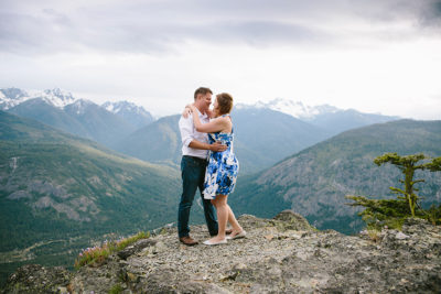 Mountain Engagement Adventure