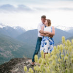 Engagement Photos on Mountains