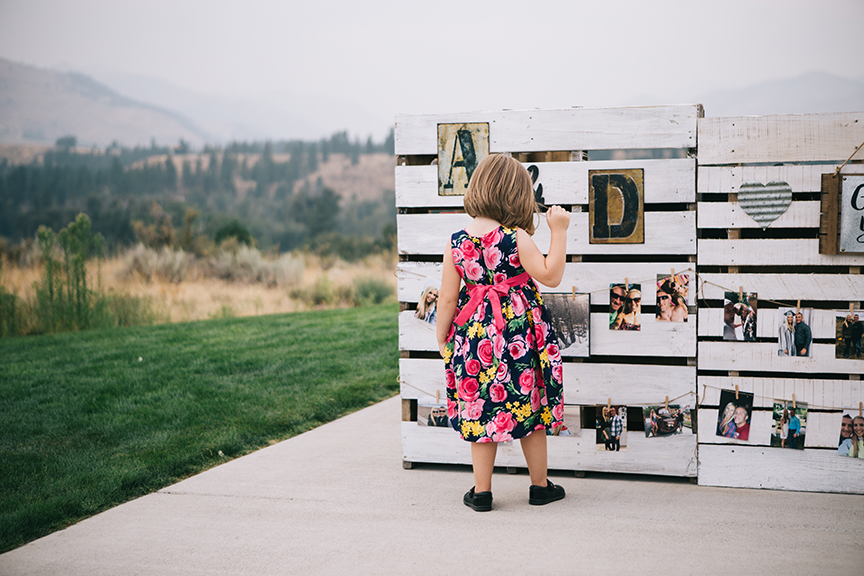 DIY Wedding Little Girl Photos