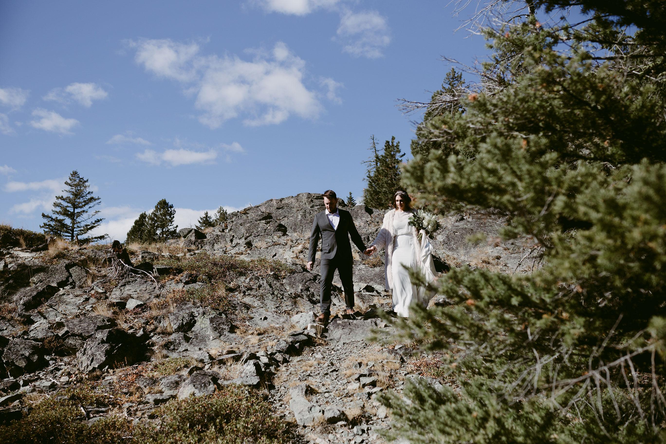 Bride Groom on Goat Peak