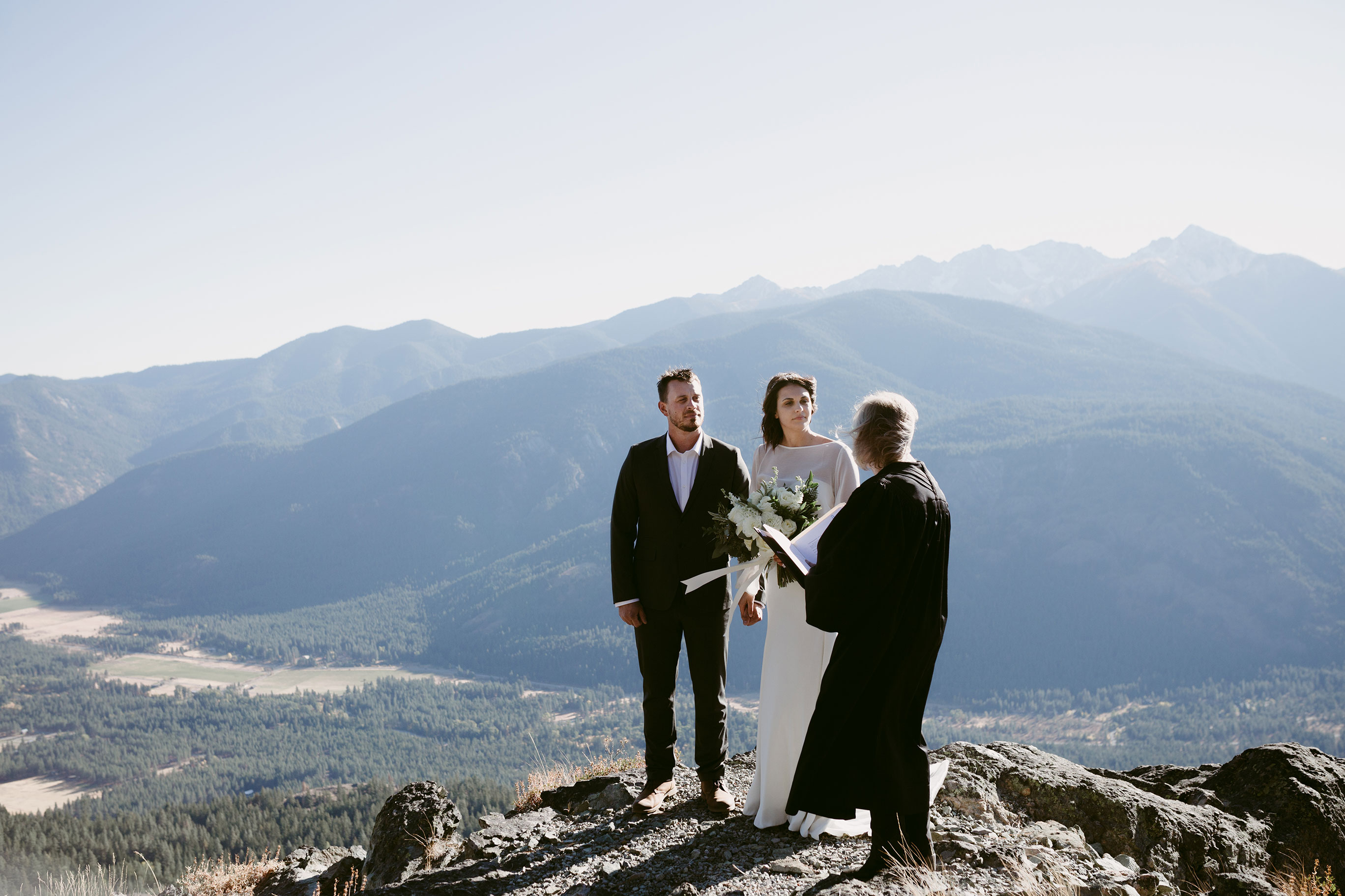 Mountain Elopement Winthrop Wa