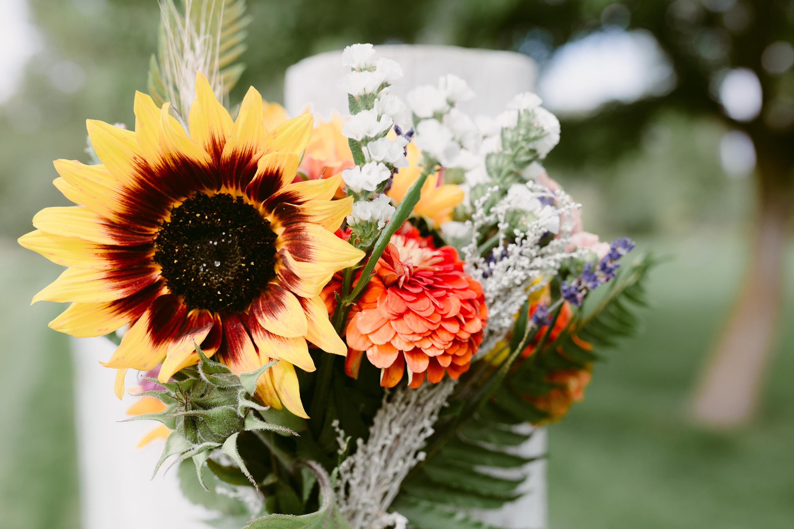 Wedding Flowers Spring Creek Ranch