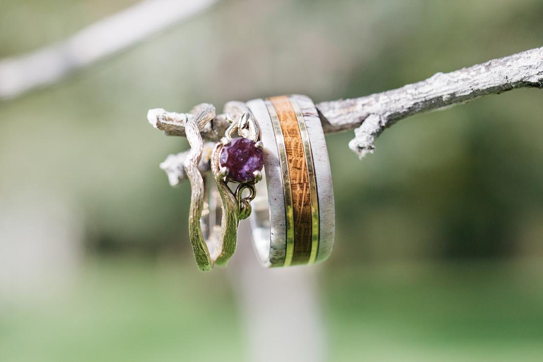Wedding Rings Spring Creek Ranch Methow Valley