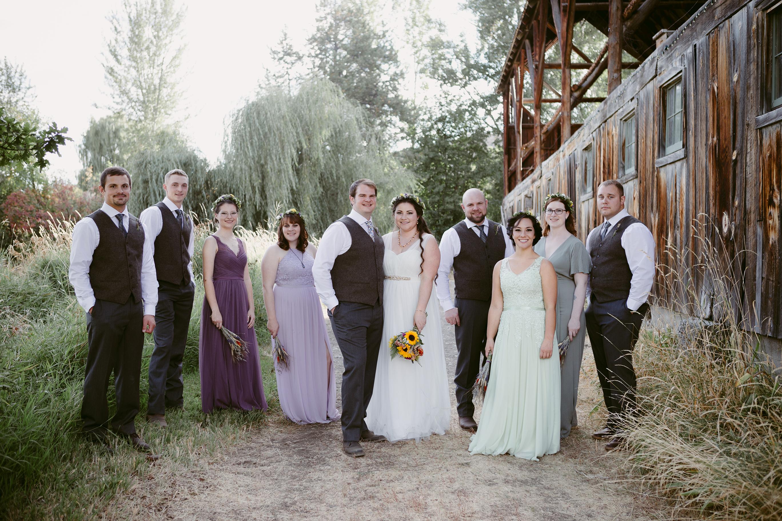 Spring Creek Ranch Wedding Party