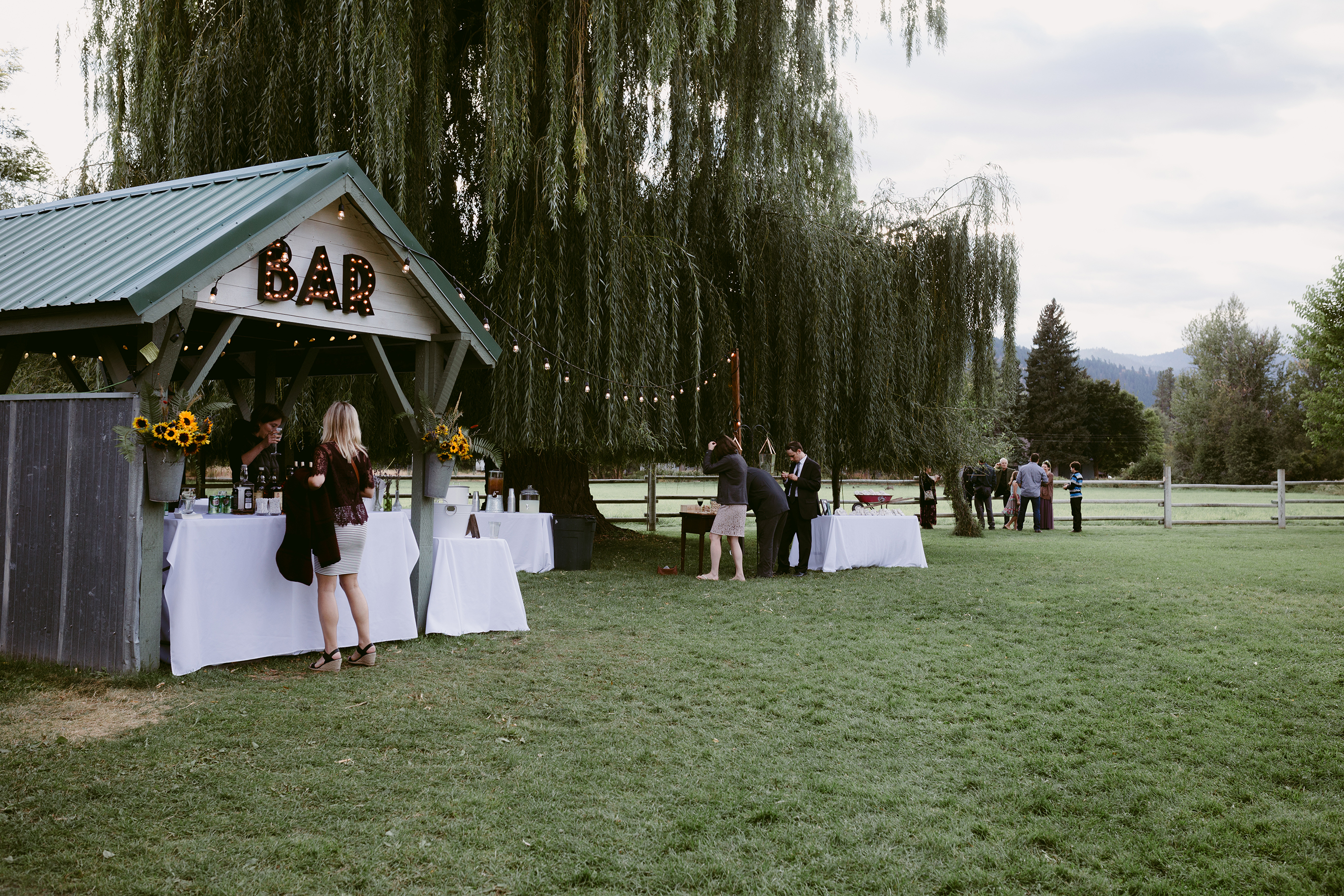 Spring Creek Ranch Wedding Bar
