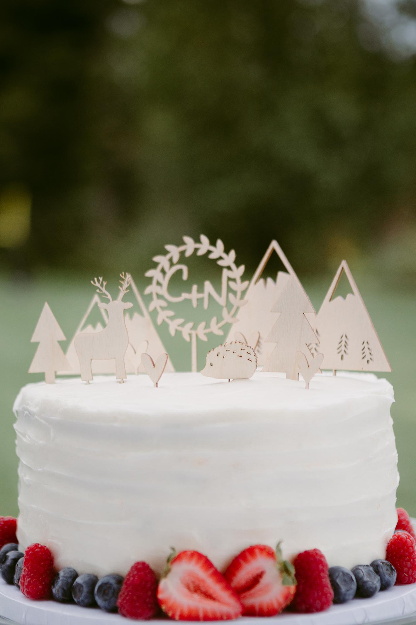 Wedding Cake Spring Creek Ranch Winthrop Wa