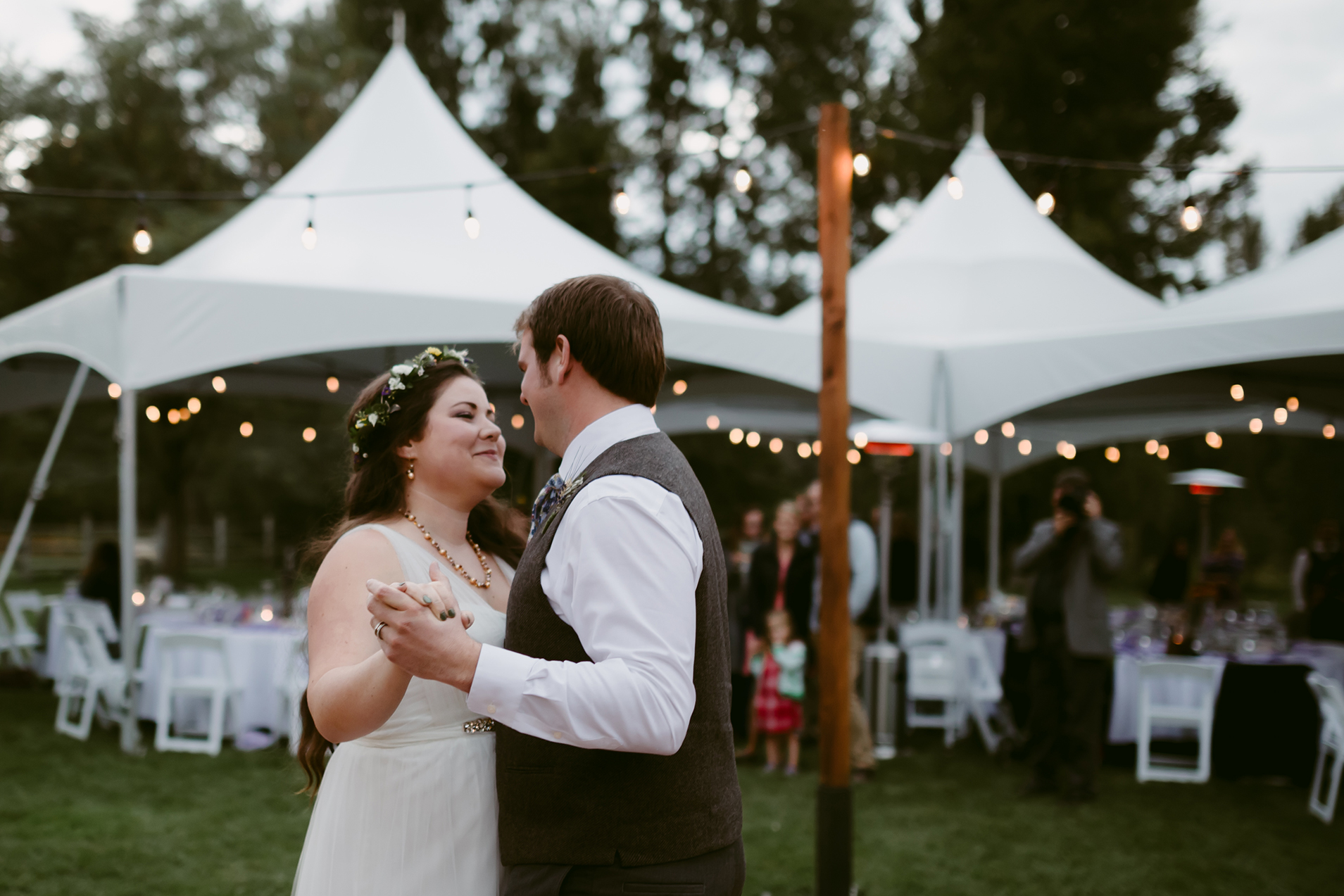 First Dance Spring Creek Ranch Methow Valley