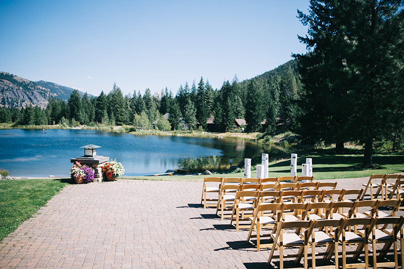 Outdoor Wedding Freestone Inn