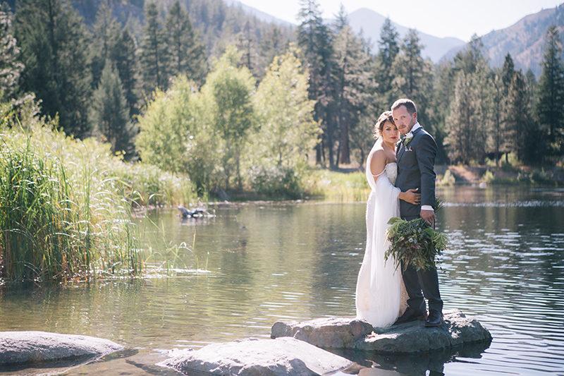 Mountain Lake wedding mazama wa