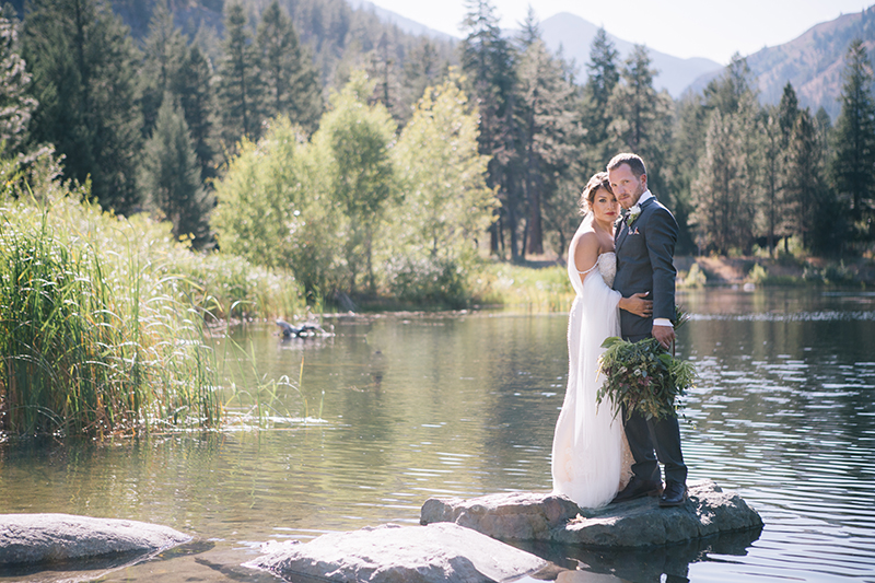 Mountain Lake wedding mazama wa