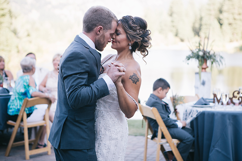 First Dance Outdoor Summer Wedding