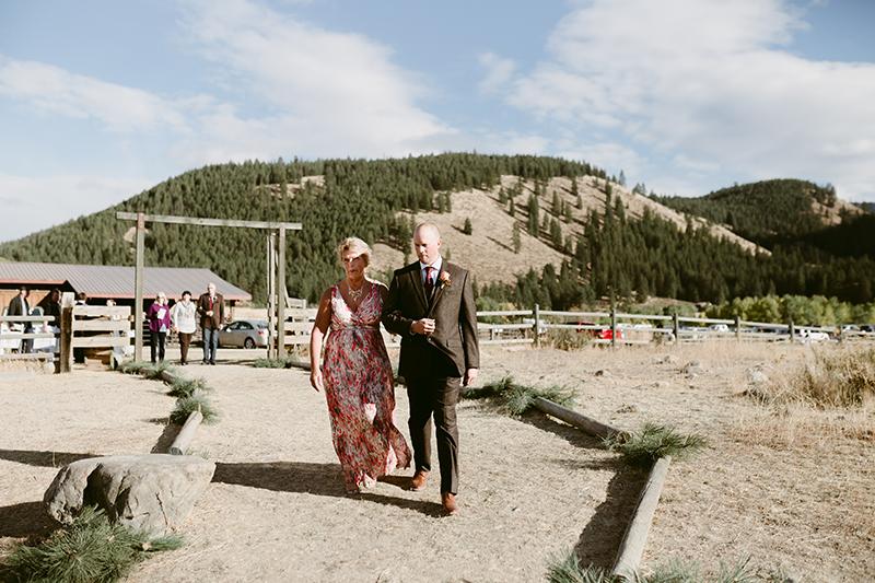 Ranch Wedding venue winthrop wa