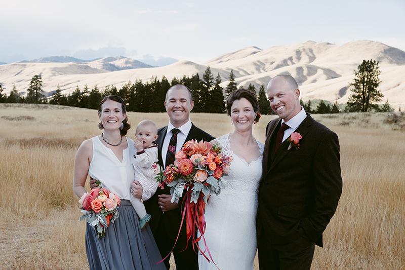 Wedding portrait winthrop wa