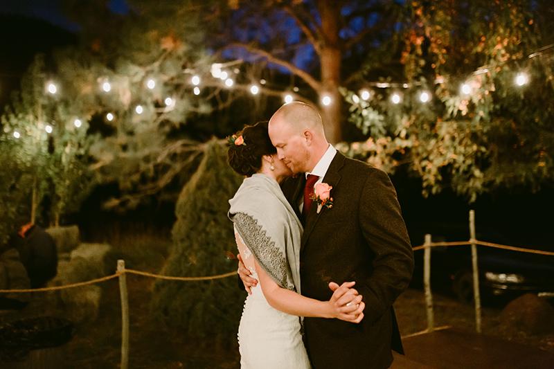 Mountain wedding First Dance winthrop wa