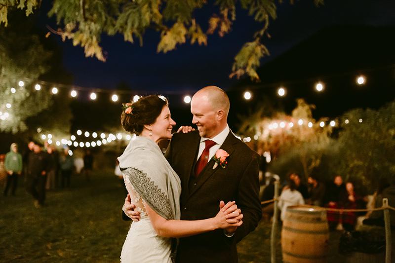 Methow valley wedding First Dance winthrop wa
