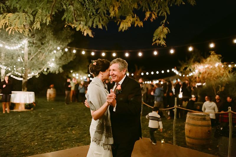 Mountain wedding Father daughter dance winthrop wa